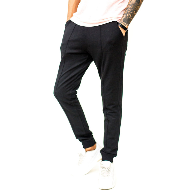 Kunphell   Men's   Joggers   With  Pinstripe#1254