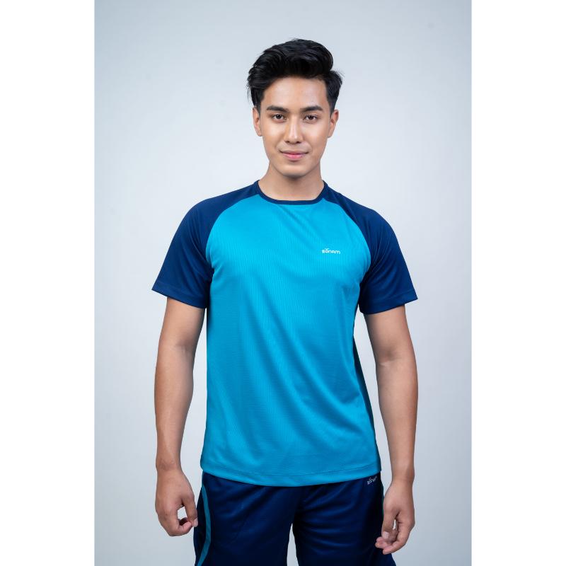 Norbu Men's Raglan Dryfit T-Shirt #1309