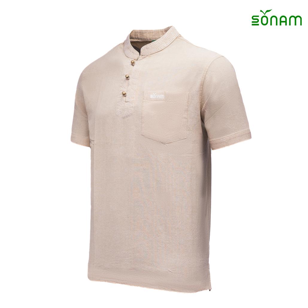 Pumori  Men's  Cotton Half Shirt #1339