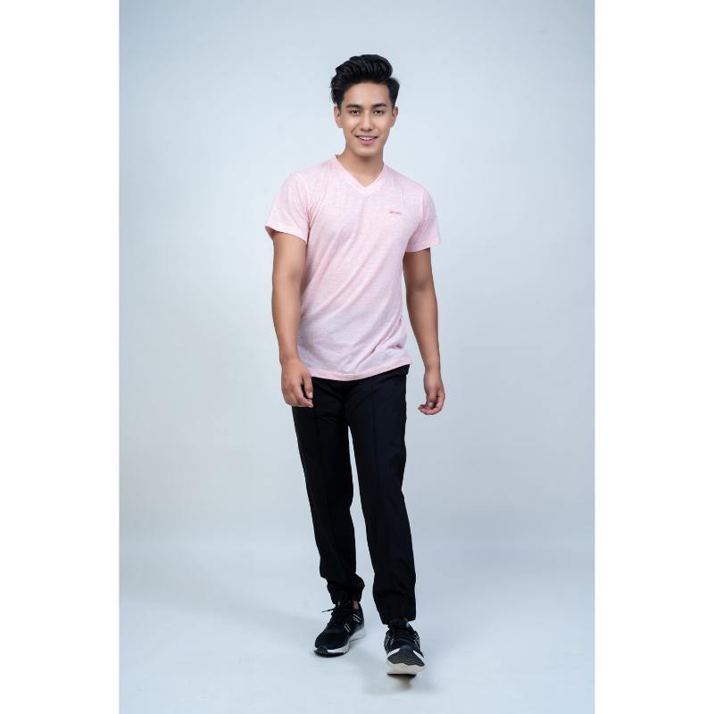 Chorten  Men's  Linen V-Neck T-Shirt  #1255